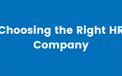 Choosing the Right HR Company